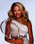Rakieta z autografem Caroline Woźniacki dla zwyciężczyni turnieju Oriflame Tennis Kids Cup